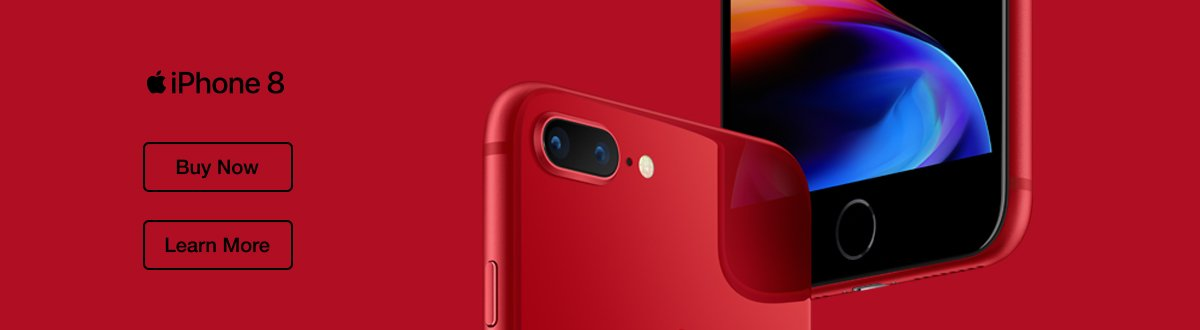 Introducing iPhone 8 (PRODUCT)RED