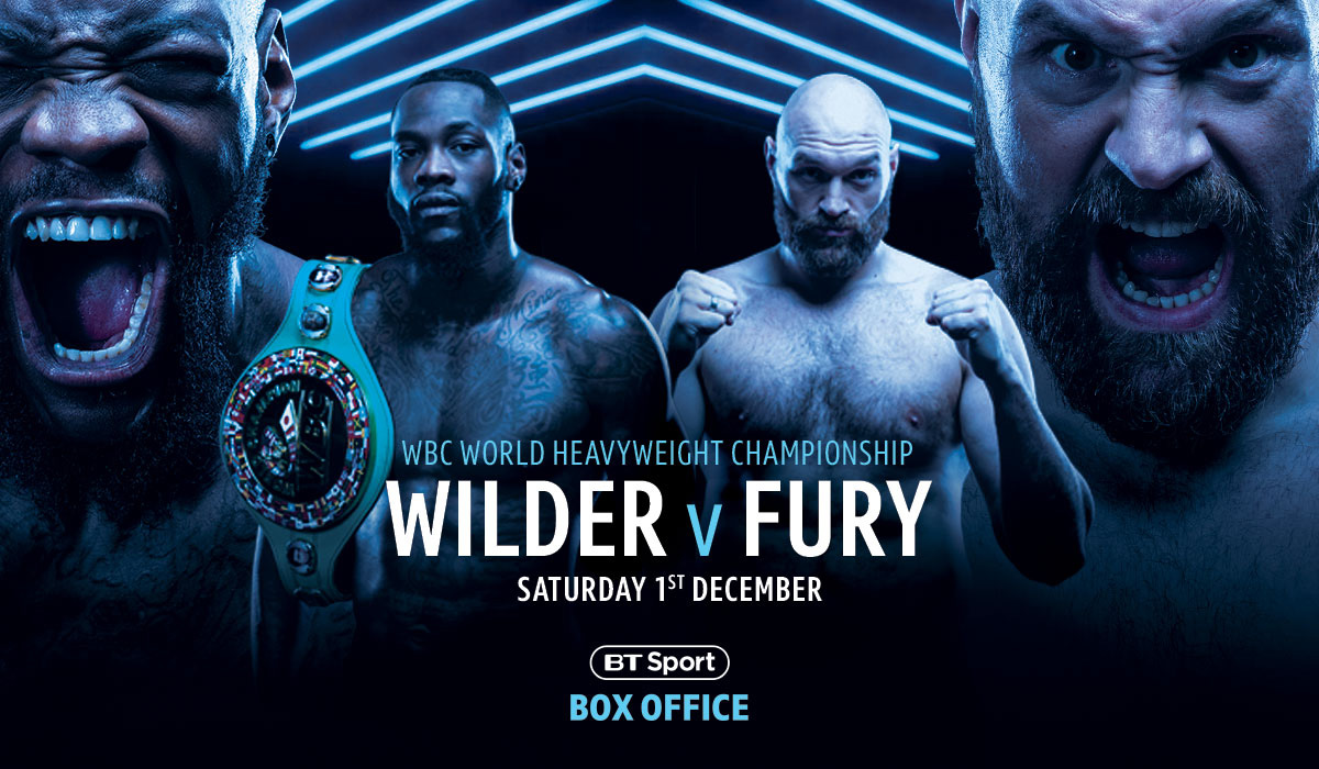 Wilder v Fury BT Sport