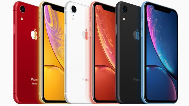 iPhone XR in all colours