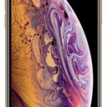 iPhone XS Gold front