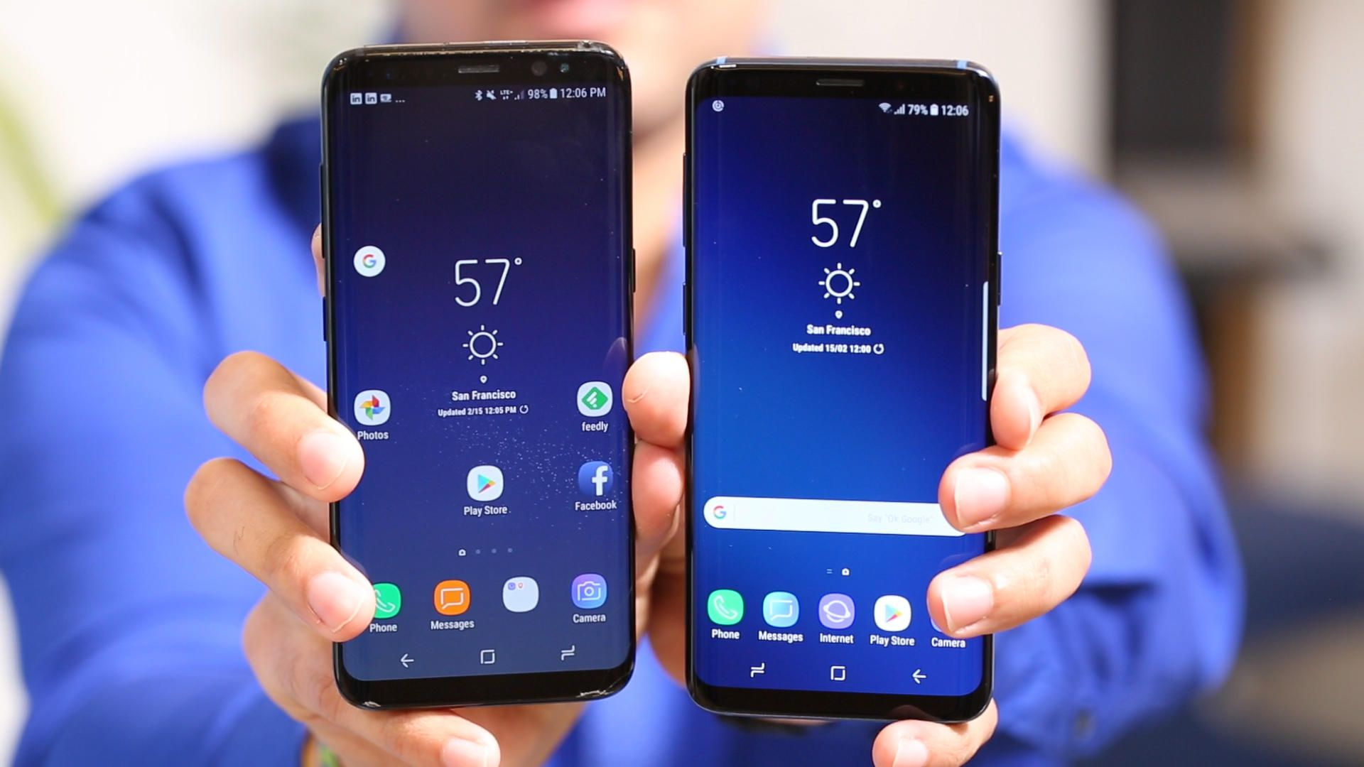 Samsung Galaxy S9 vs S8