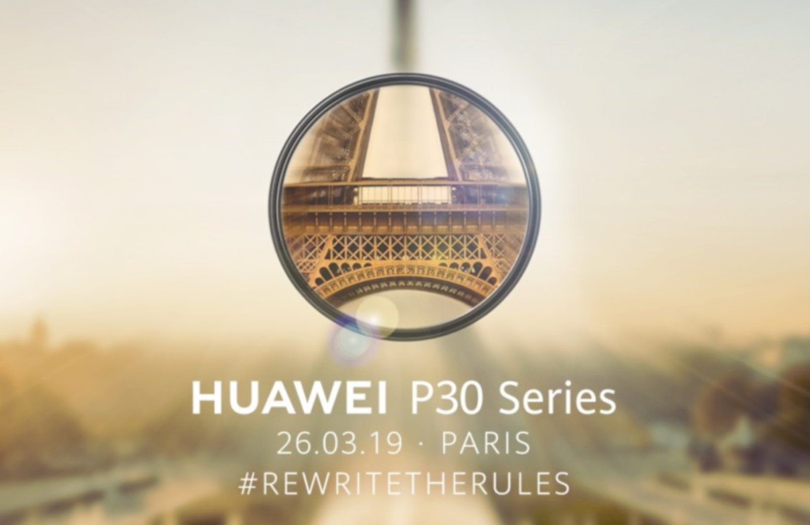 Huawei P30 launch event