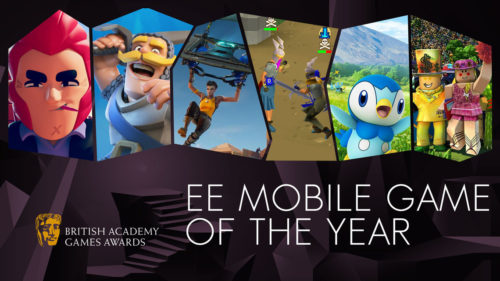 EE Mobile Game of the Year