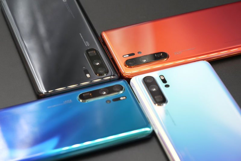 Huawei P30 series all colours