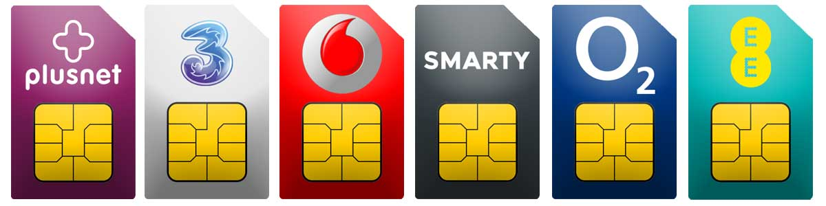 SIM only deals on all networks