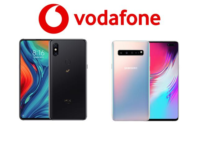Vodafone 5G phones