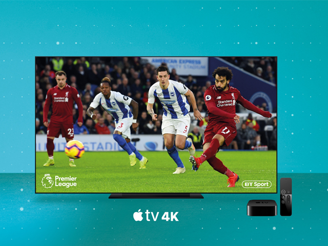 BT Sport on Apple TV with EE