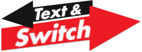 Text to switch mobile networks