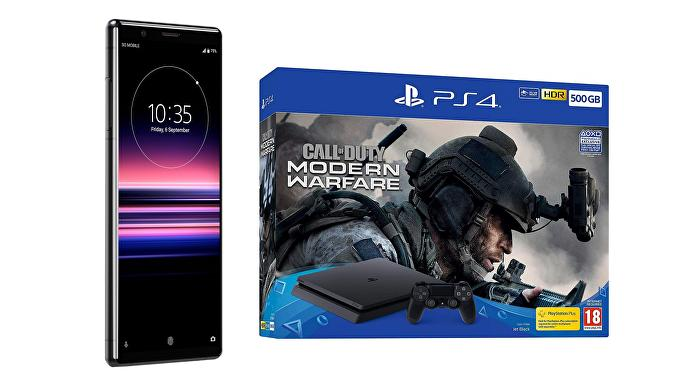 Sony Xperia plus free PS4