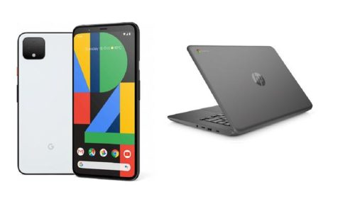 Google Pixel 4 and free Chromebook