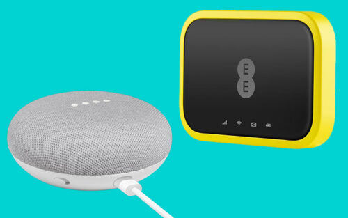 EE Mobile Broadband with Google Home Mini