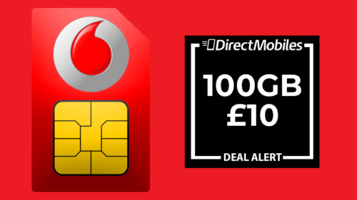 Vodafone 100GB SIM Only deal